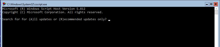 Windows Brasil - Menu Windows Server Core